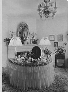 1940s Decorating Style | Early american, French provincial and 1940s