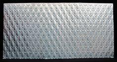 1800 x 900 - Fishscale Pressed Metal Pressed Metal, Tin Tiles, Metal Ceiling, Fish Scales, Sweet Home, Splashback Ideas, Wall, Patterns, Image