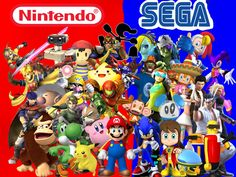 That moment when you realize that I know more Nintendo characters than Sega charicters...