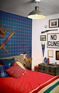 Plaids on pinterest plaid plaid wallpaper and boy bedding