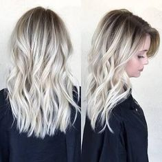 Image result for root stretch balayage blonde