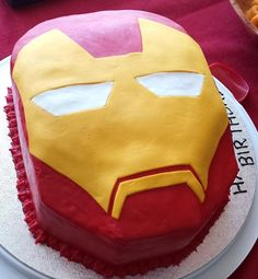 Iron Man cake entry https://www.facebook.com/partyzonepartyproducts