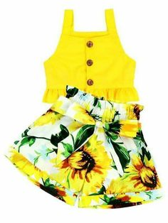 Fits true to self Set included African Dresses For Kids, Little Girl Outfits, Little Girl Dresses, Kids Outfits, Cute Outfits, Fashion Kids, Girls Fashion Clothes, Baby Girl Dress Patterns, Baby Dress