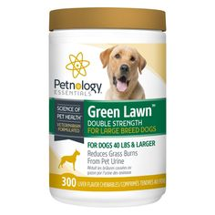 Petnology Green Lawn Double Strength Chewable, 300 Count -- Want to know more, click on the image. (This is an affiliate link) #DogHealthSupplies