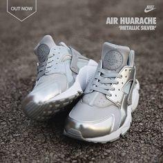 Nike Air Huarache 'Metallic Silver'