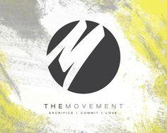 A sleek, edgy logo for Movement Christian Cultural Arts Center in Miami, Florida