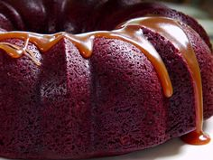 Stout Cake with Caramel Sauce Recipe : Jamie Deen : Food Network - FoodNetwork.com