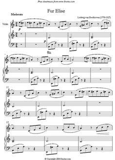 Fur Elise - Beethoven - Violin