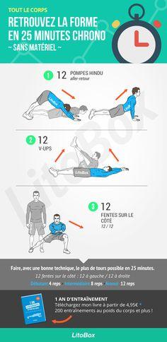 Musculation sans matériel pour tout le corps ★★★