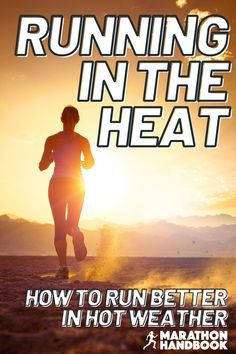 Hot weather can pose a new problem for runners – running in the heat is very different from cool conditions. This running guide explained to me exactly how to adapt my running to the hot summer weather! Now Im totally adjusted to running in the heat Half Marathon Motivation, Marathon Tips, Marathon Running, Running Motivation, Running Guide, Running Plan, Beginner Running, Running Training Programs, Race Training