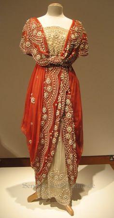 Dress worn by Irene Jacobs as 'Lilias Craven' in the film The Secret Garden - 1993 - Design by Marit Allen - @~ Mlle