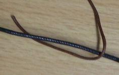 Verstellbarer Knotenverschluss für Lederbänder | Bastelfrau