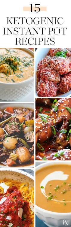 15 Ketogenic Recipes You Can Make in an Instant Pot #purewow #food #instant pot #easy #ketogenic #recipe #dinner