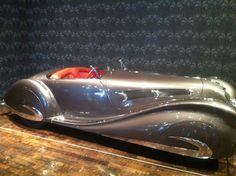 Art Deco Vehicles:  awesome collection of cars and bikes on display at the Frist Museum Nashville, TN.