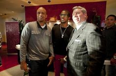 Phil Ivey, Chris Paul and Mike Sexton