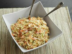 Perfectly crunchy COLESLAW.