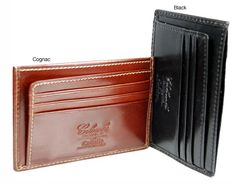 <li>Store everything you needs with a wallet by famed designer Castello </li><li>Men's wallet is crafted of top grain Italian leather </li><li>Wallet sports a refined, sensible style befitting of today's modern professionals </li>