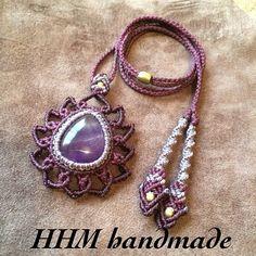 "48 Likes, 8 Comments - Macrame Art Hide (@macrame_art_hide) on Instagram: ""早速のご注文ありがとうございます!! #macrame #accessories #pandant #fasion #jewellery #handmade #lotus #lotusflower…"""