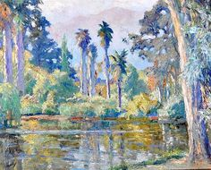 EDWARD CUCUEL (1875-1954) AMERICAN RANCHO SANTA