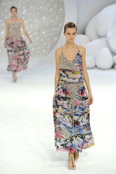 Chanel: Runway  Paris Fashion Week Spring / Summer 2012