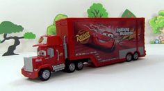Mack Truck Transformer. Unpacking the toy from the Disney Pixar the Cars...
