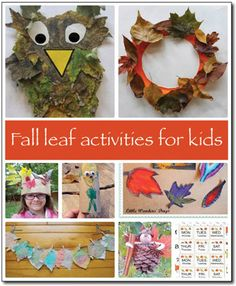 Fall activities for kids: Leaves galore! - Gift of Curiosity
