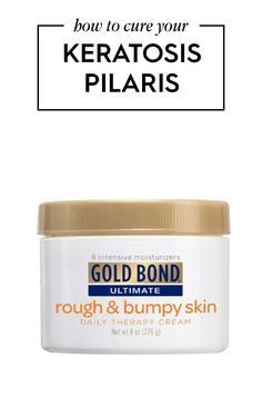 """Keratosis Pilaris Treatment Products Keratosis pilaris, according to the Mayo Clinic is """"difficult to ..."""