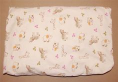 Cocalo Baby Cream Brown Pink Jacana Safari Jungle  Nursery Fitted Crib Sheet #CoCaLo