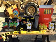Construction-Themed Kids Party - #kidsparty #partyidea