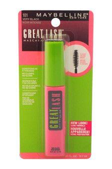 great lash mascara - # 101 very black by maybelline 0.43 oz
