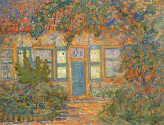 Piet Mondrian | Little House in Sunlight, 1909-1910 Source: chasingtailfeathers
