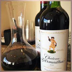 Château Armailhac property of Mouton Rothschild  #wine #redwine #cabernetsauvignon #cabernet #bordeaux #rothschild #wein #wijn #vin #vino #vinho #winegeek #wineoclock #winelover #winelovers #winetasting #somm #sommlife #instawine #winestagram #rotwein  #vinrouge