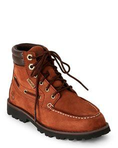 Timberland (Kids Boys) Cognac Oakwell Mid Boots