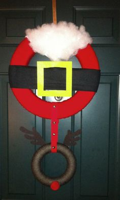 Image detail for -santa wreath 2