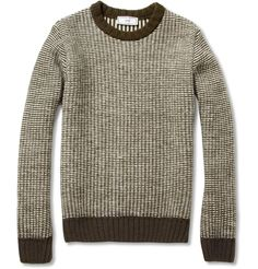 AmiKnitted Crew Neck Sweater|MR PORTER