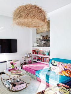 DelíCia De Apartamento Com DecoraçãO Vintage Chic, Feminina, Despojada E Alegre