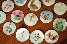 Winter Snow Globe Place Cards - Make and Takes