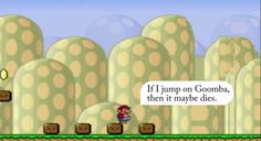 AI team adds emotions to Super Mario