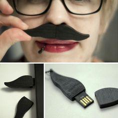 Moustache Flash Drive