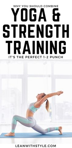 strength training and yoga | yoga and weight lifting | yoga and lifting | strength training for men #yoga #strengthtraining #leanwithstyle