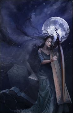 """""""The melody of your demise"""" by enayla (deviantART)"""