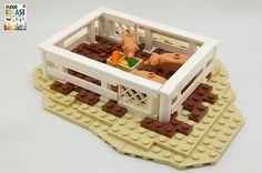 "2011 barn models - lego models commissioned for dorling kindersley's ""lego ideas book"""