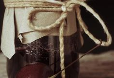 Višňový džem s likérom a mandľami
