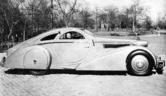 1925 Rolls Royce Phantom I Jonckheere Aerodynamic Coupe (1934): The Round Door Rolls