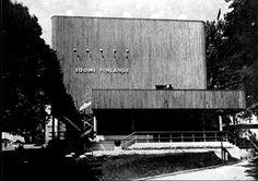 Alvar aalto / Finnish Architect / Finnish Pavilion / Paris world exhibition / 1937