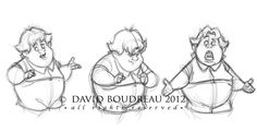 Concept Design Sketches - The Art of David Boudreau Character Design Animation, Character Design References, Character Development, Kid Character, Character Drawing, Illustration Sketches, Character Illustration, Animation Reference, Art Reference