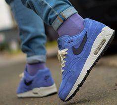 Nike air max 1 90 hybrid daim violet (2018)   Chaussures air