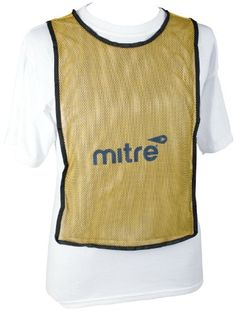 Mitre Pinnies 2 MultiColor Training Vest YellowWhite 4 Pack -- Want additional info? Click on the image.
