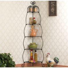 Copper Metal Corner Shelf System - Deals, Reviews & Prices - 13886228