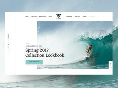 VISSLA Redesign Concept  Sneak Peek by Simon Kratz #Design Popular #Dribbble #shots